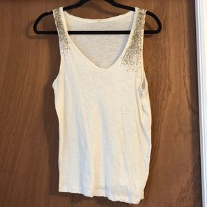 *2 for $15* Beaded tank top